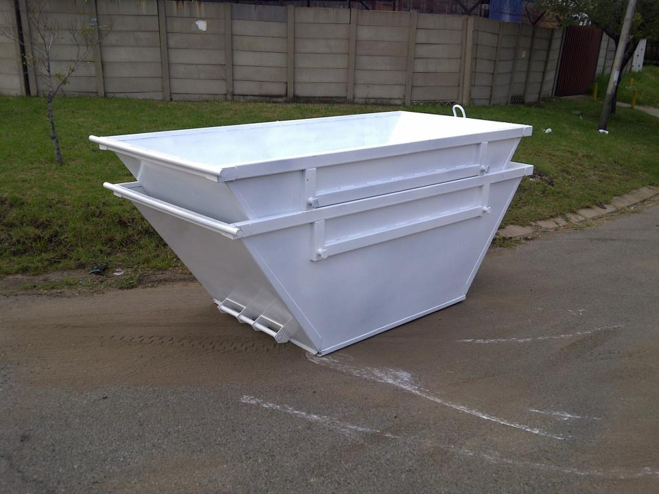 waste recycling skip bin